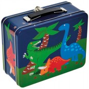 Bobble Art Dinosaur Tin Suitcase