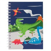 Bobble Art Notebook Dinosaur
