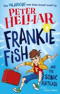 popular kid's books - frankie fish and the sonic suitcase