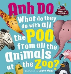 popular kid's books - what do they do with all the poo from the animals at the zoo