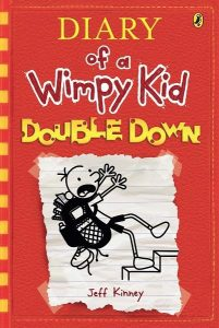 popular kid's books - wimpy kid double down