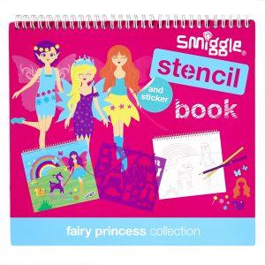 smiggle stencil book