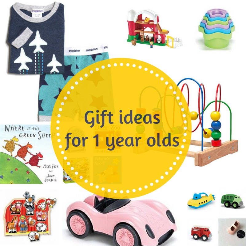 Gift Grapevine gift guides: Gift ideas for 1 year olds