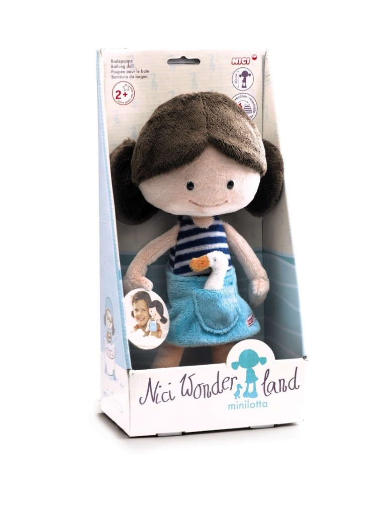 Minilotta bath doll - Gift ideas for 2 year olds - Gift Grapevine
