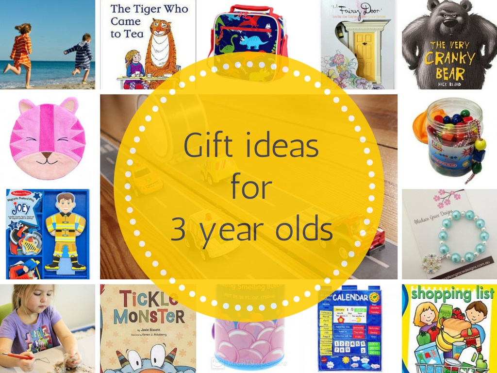 Gift Grapevine gift guides: Gift ideas for 3 year olds