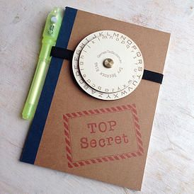 spy journal - Gift ideas for 7 to 9 year olds - Gift Grapevine