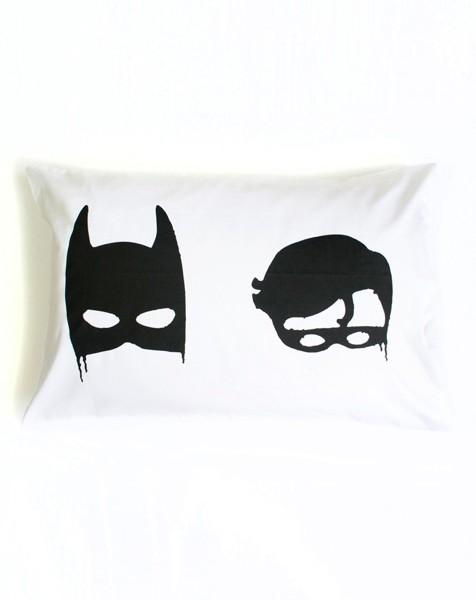 bat boys pillowcase