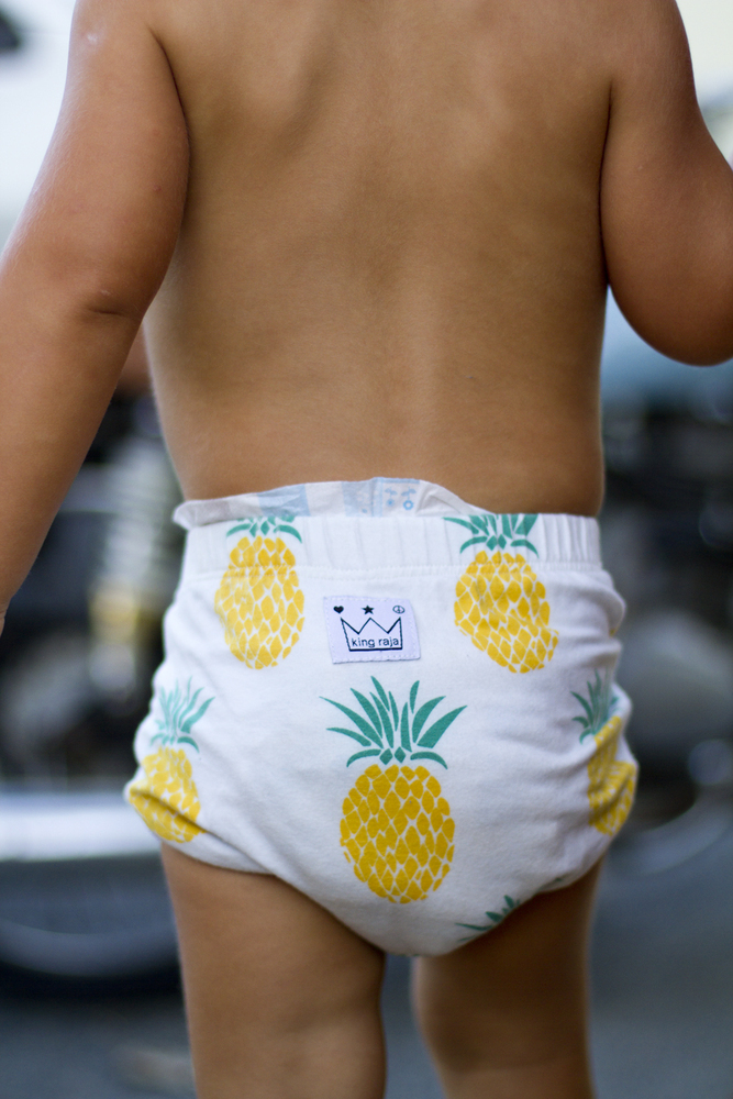 pineapple napppy pants