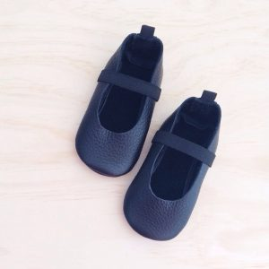H&D ballet moccs in black