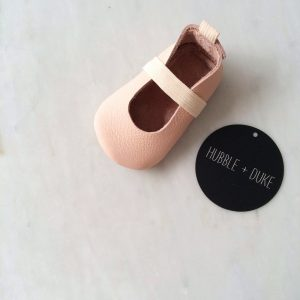 H&D ballet moccs in pink