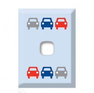 light switch cover cars