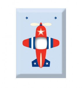light switch cover plane