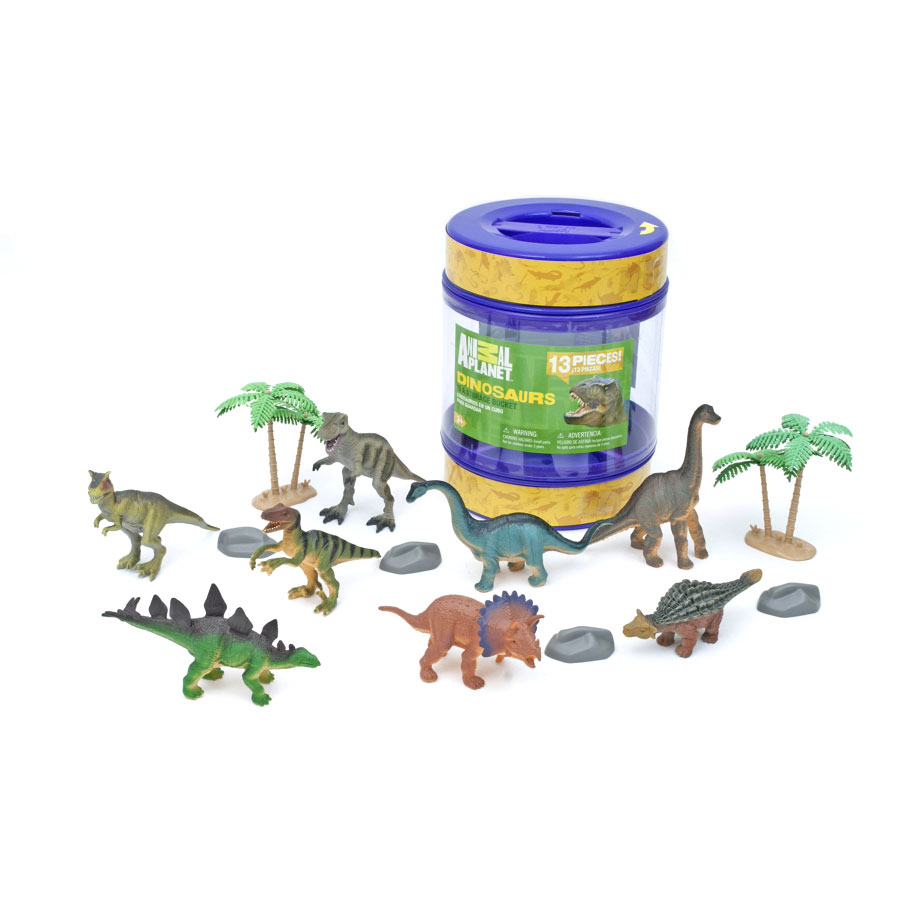Animal Planet Dinosaur Bucket