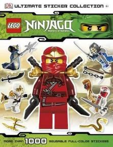 Lego Ninjago sticker book - LEGO gift ideas - Gift Grapevine