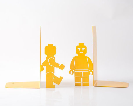 Legomen bookends - LEGO gift ideas - Gift Grapevine