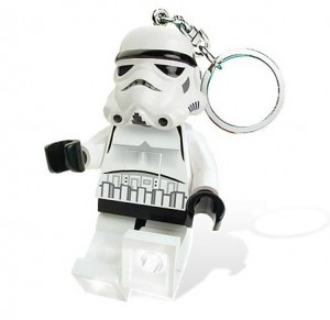 Stormtrooper keylight - LEGO gift ideas - Gift Grapevine