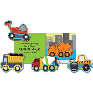 Trucks bath book pop outs