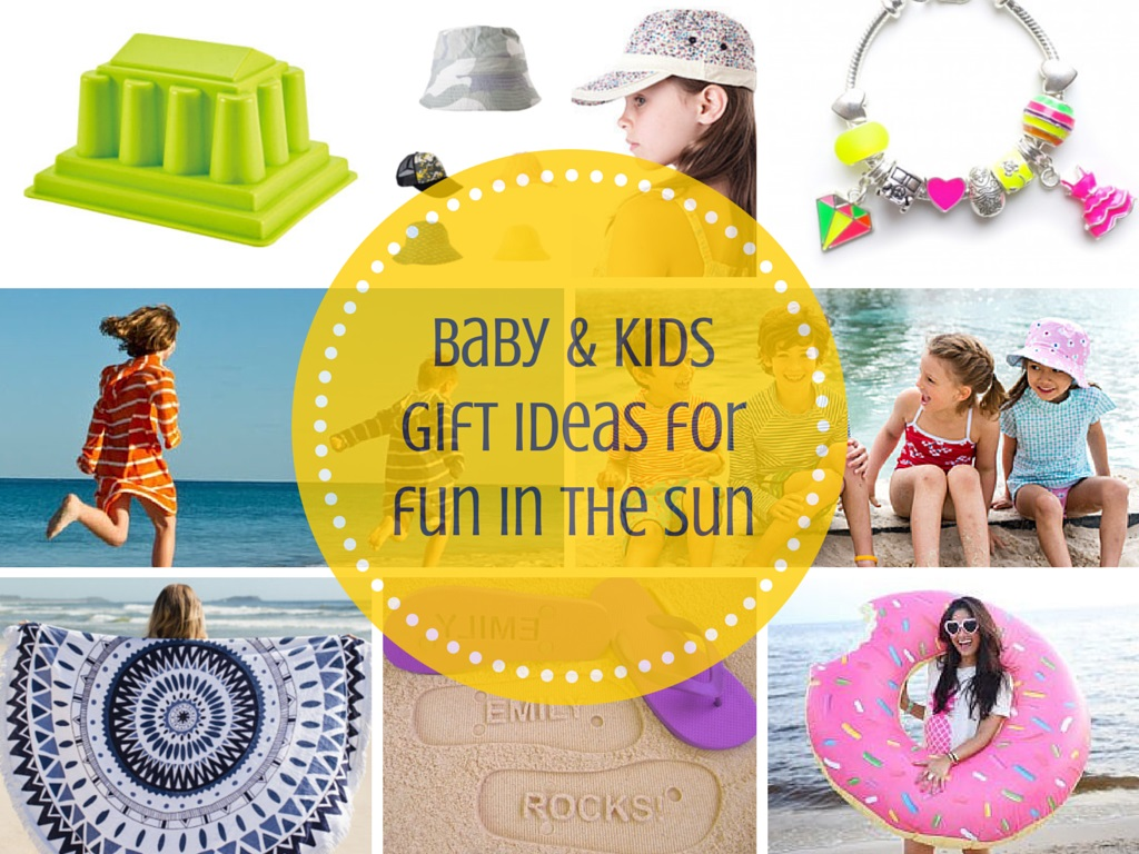 Baby & kids gift ideas for fun in the sun + my first giveaway!