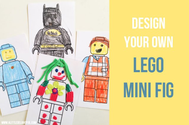 design your own lego mini fig - LEGO gift ideas - Gift Grapevine