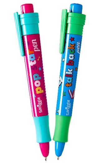 smiggle recordable pen