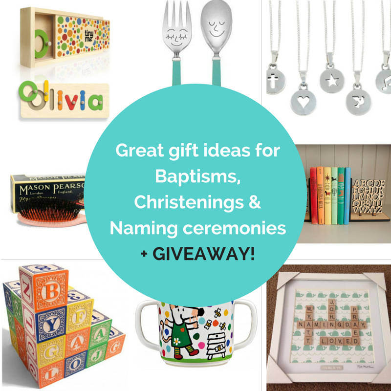 Great gift ideas for Baptisms, Christenings & Naming ceremonies + GIVEAWAY!