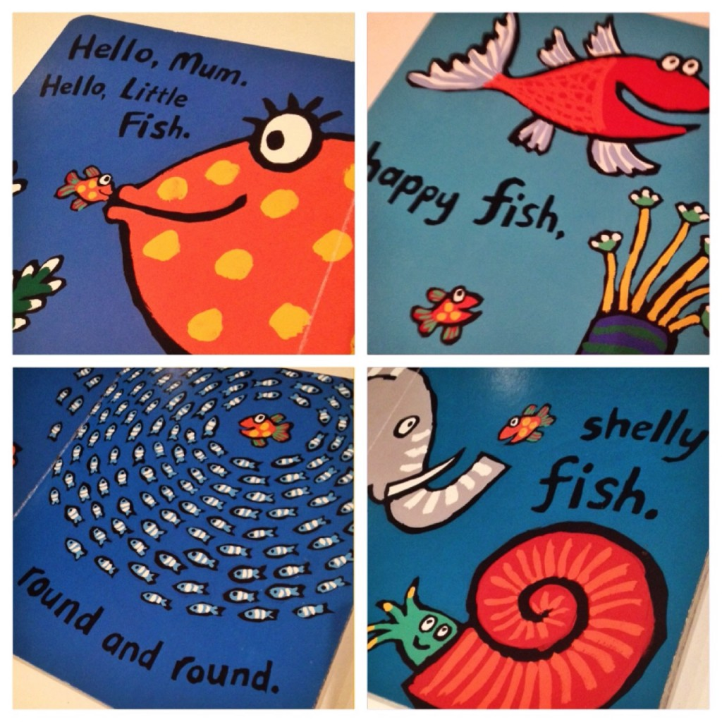 pages from hooray for fish
