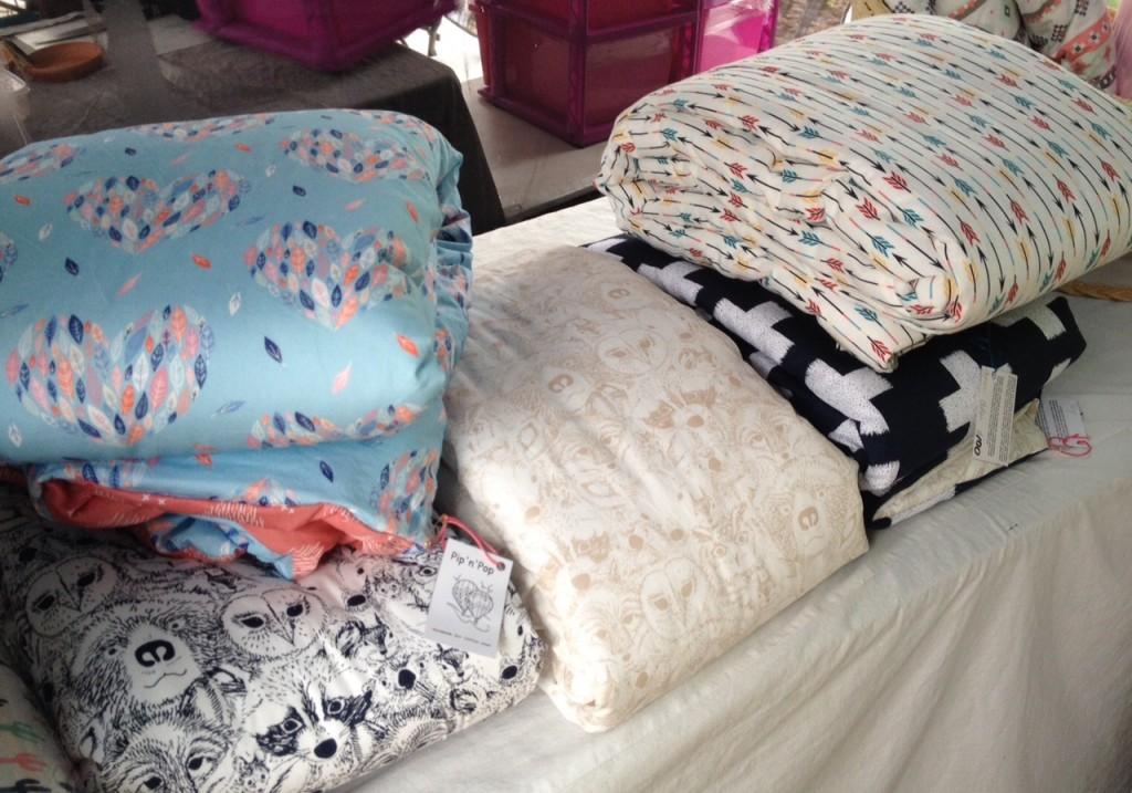 PipnPop cot quilts