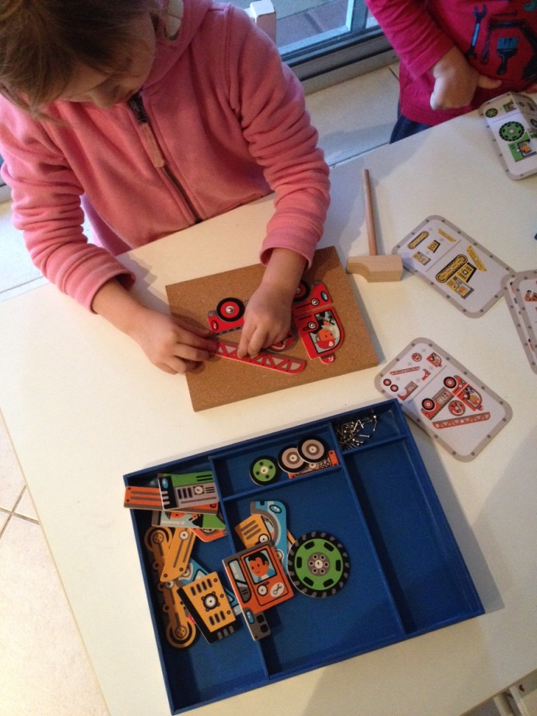 Tap Tap arranging pieces
