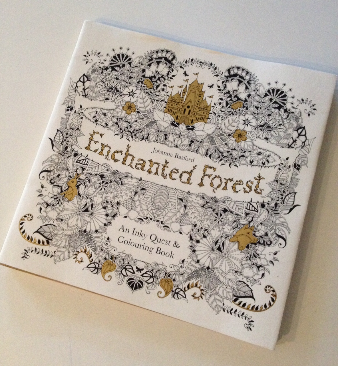 The enchanted forest coloring book review - Enchanted Forest Gift Grapevine Kid S Book Review