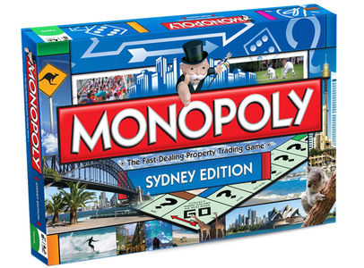 Australiana gifts - Monopoly Sydney Edition