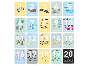 Australiana gifts - Numbers Wall Frieze image