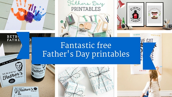 Fantastic free Father's Day printables