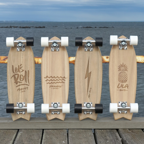the zoo keeper custom skateboards