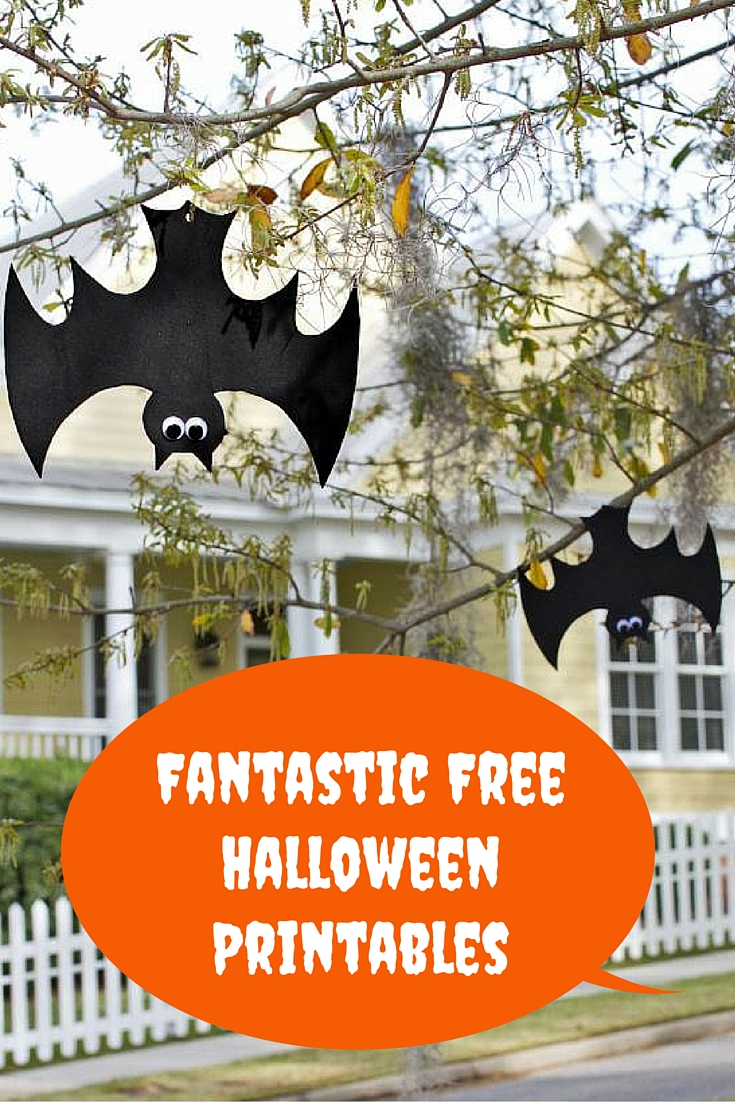 Fantastic free Halloween printables pin