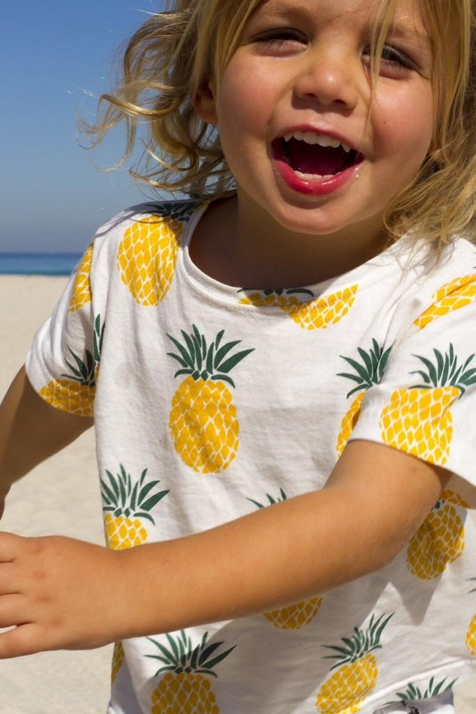 King Raja Organics pineapple tshirt