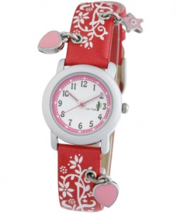 Cactus watch - charming red