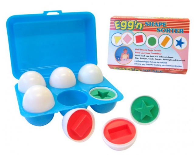 Egg n Shape sorter