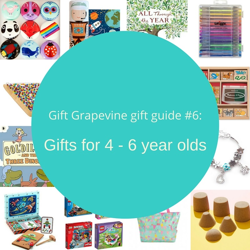 Gift Grapevine gift guide # 6 – Gifts for 4 – 6 year olds