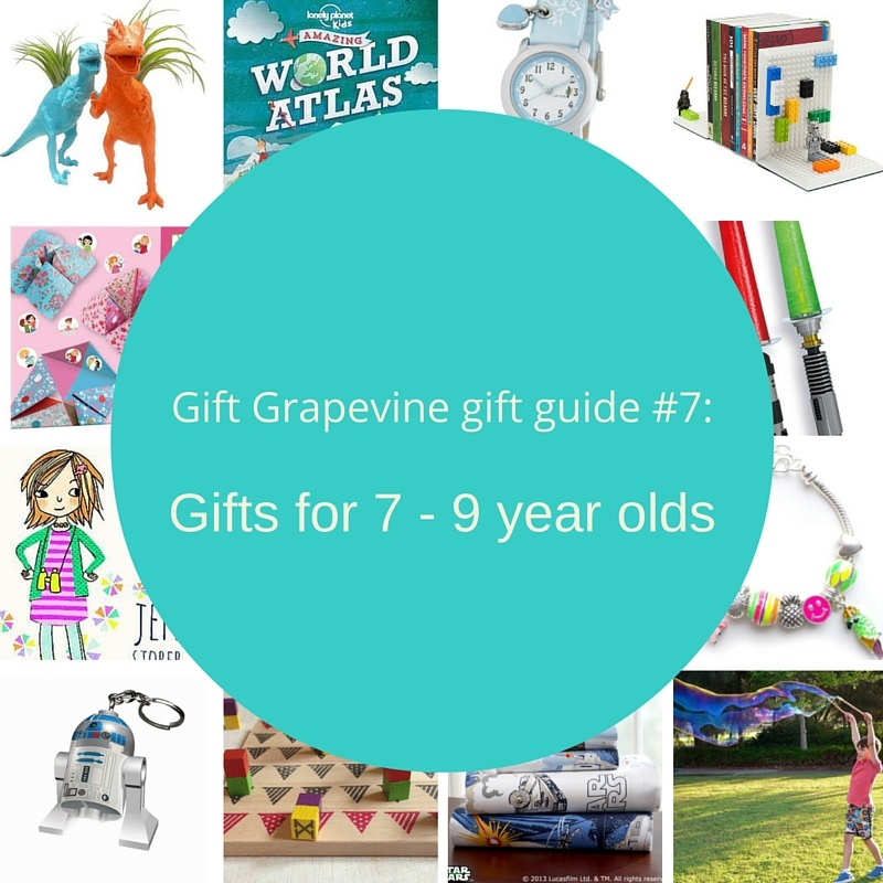 Gift Grapevine gift guide # 7 – Gifts for 7 – 9 year olds