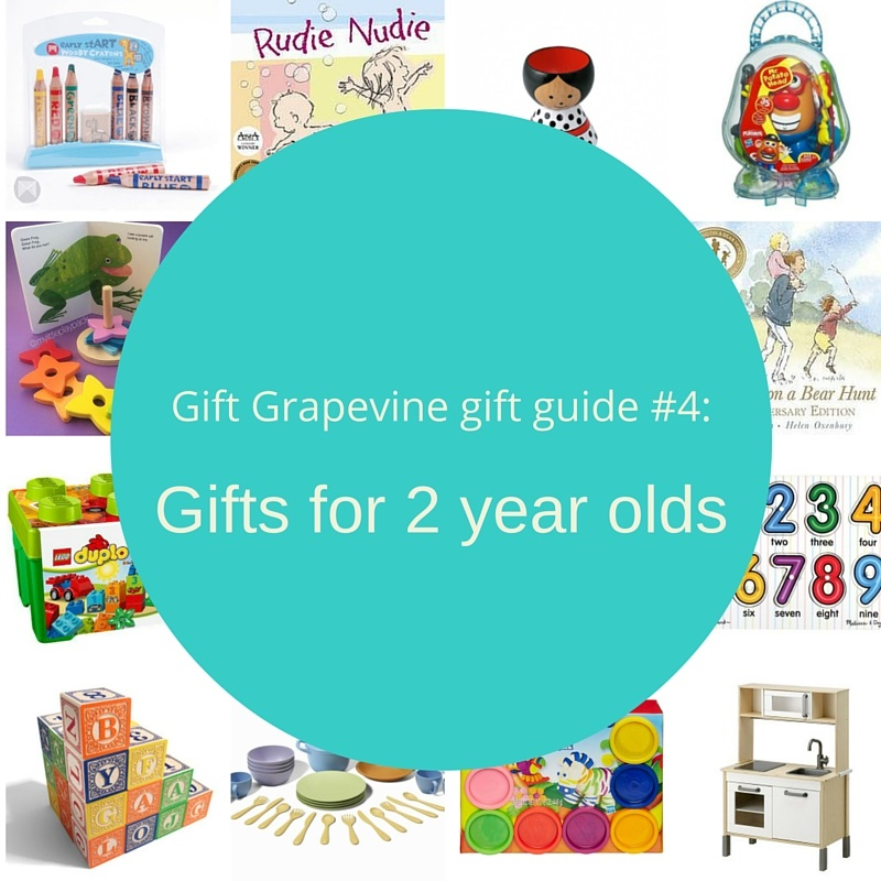 Gift Grapevine gift guide # 4 – Gifts for 2 year olds
