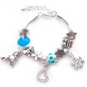 Lauren Hinkley ice sisters charm bracelet