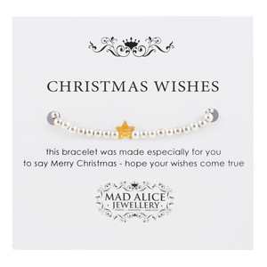Mad Alice Jewellery Christmas wishes bracelet