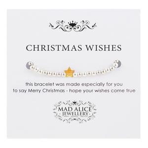Mad Alice Jewellery Christmas wishes bracelet