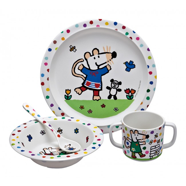Maisy mealtime set