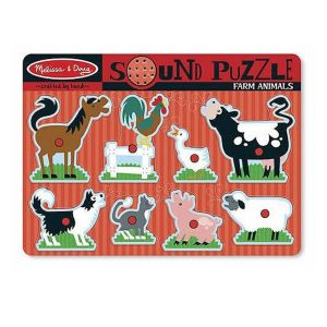 Melissa and Doug farm animal sound puzzle