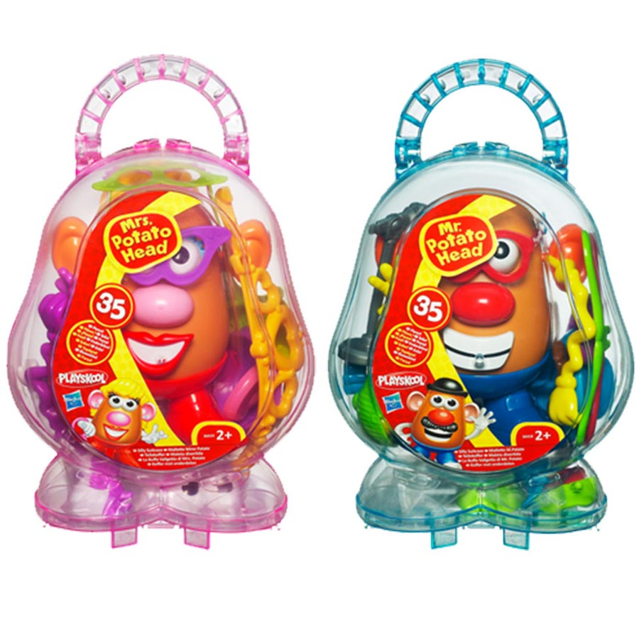 Mr and Mrs Potato Head Silly Suitcases