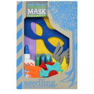 Seedling superhero mask