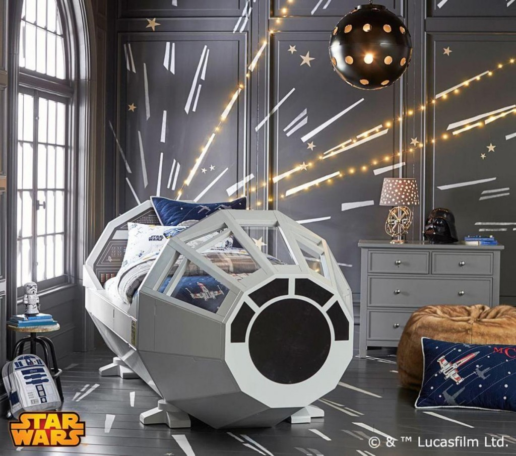 star wars bed