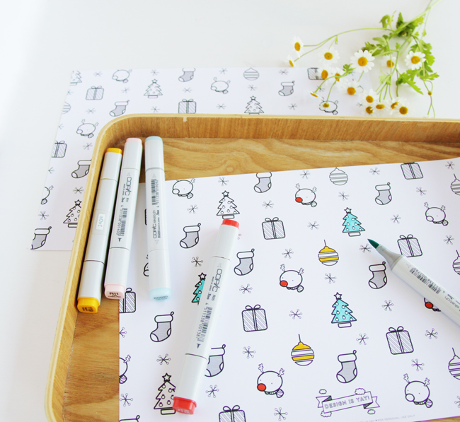 Color-in-Christmas-Wrapping-Paper