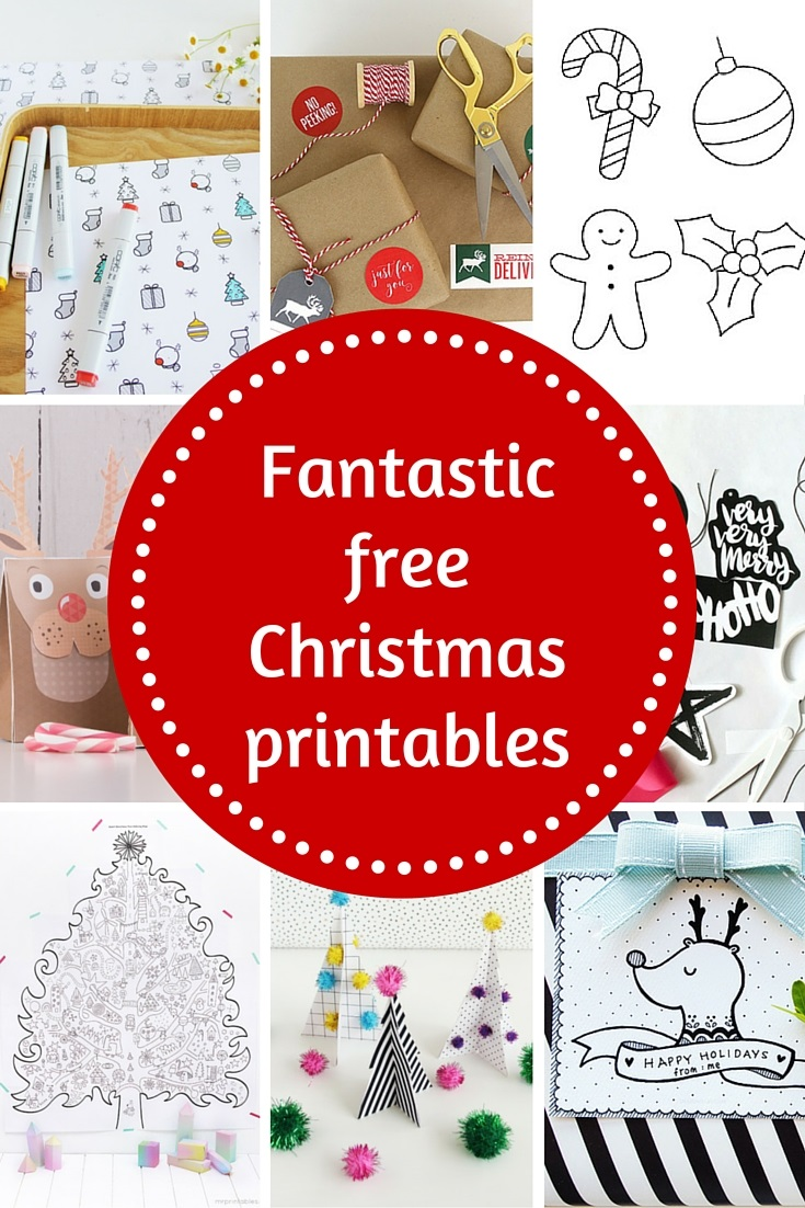 Fantastic free Christmas printables